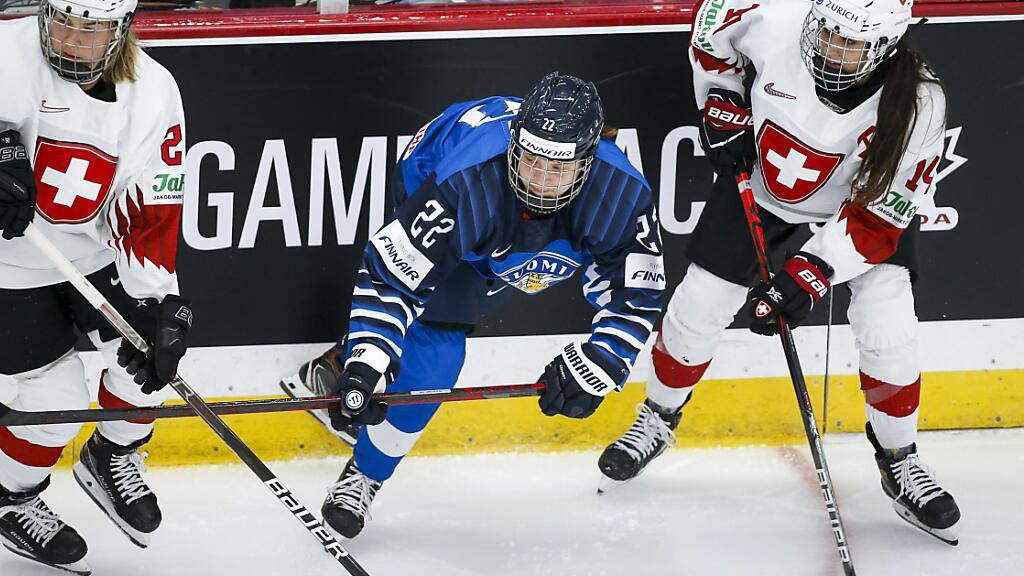 Gegen Finnland war für die Schweizerinnen erneut nichts auszurichten