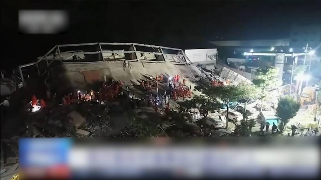 Mindestens zehn Tote nach Einsturz von Quarantäne-Hotel in China