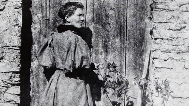 Die Frauenrechtlerin Meta von Salis im Jahr 1895.