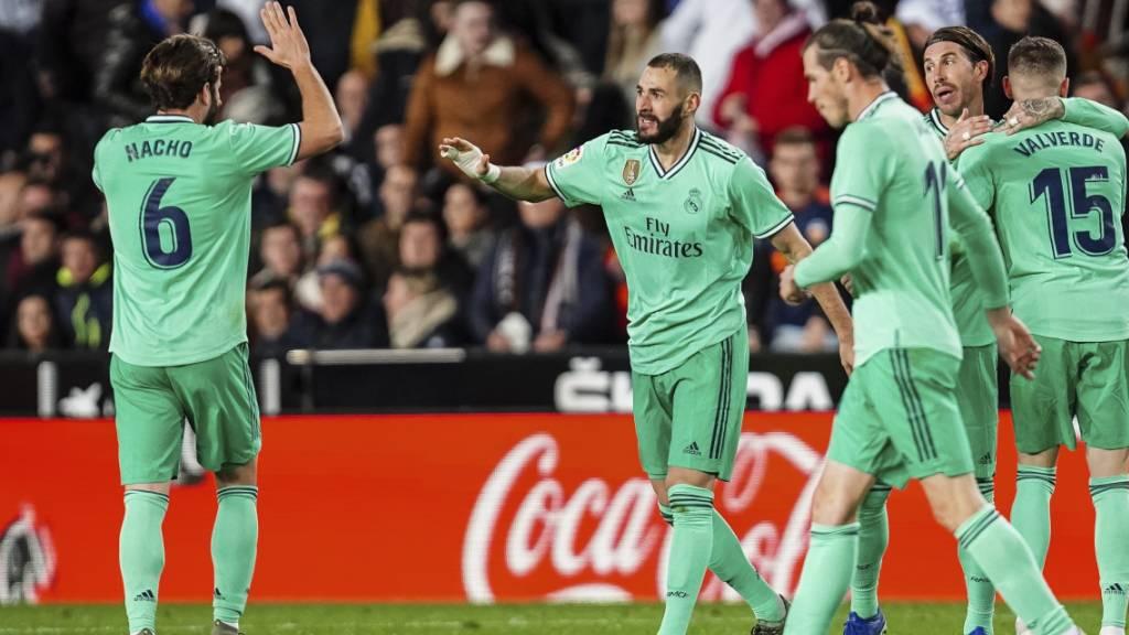 Real Madrid verliert Punkte, tankt aber Moral