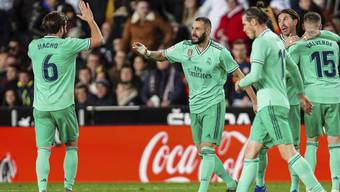Karim Benzema sorgte für das versöhnliche Ende für Real Madrid in Valencia