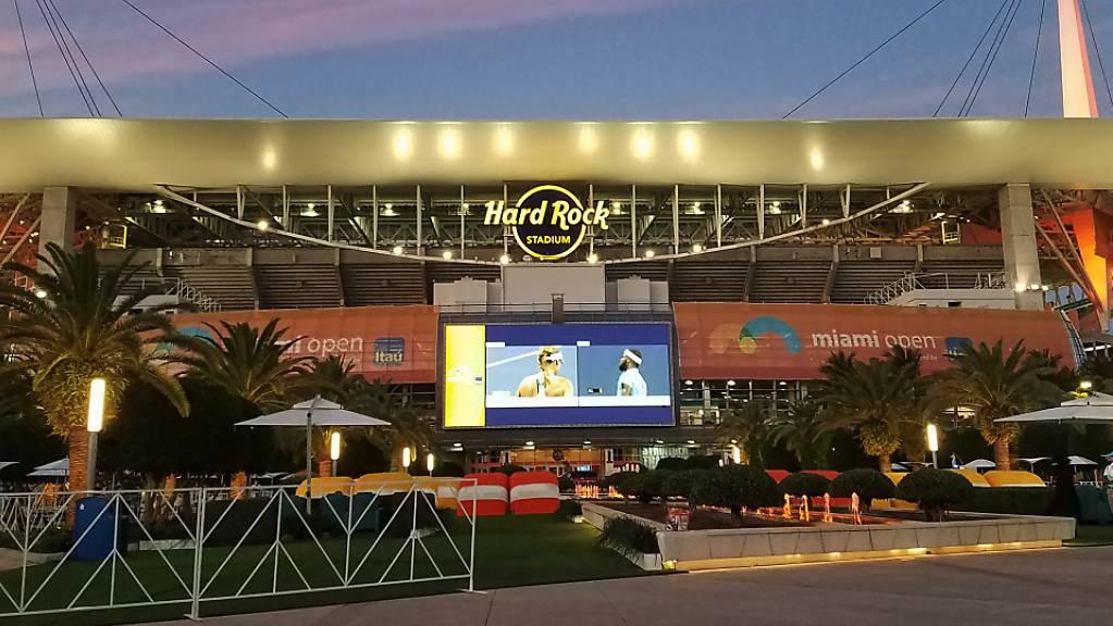 Der Grand Prix der Fomel 1 ab 2022 in Miami wird rund um das Hard Rock Stadium führen.