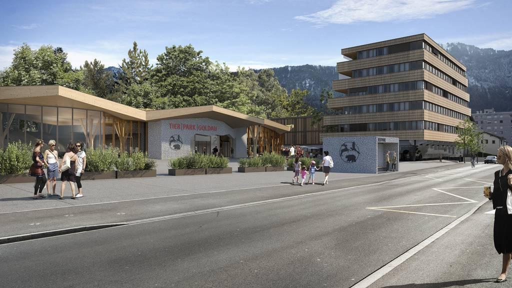 Neuer Eingang, weniger Parkplätze: Alles neu beim Tierpark Goldau