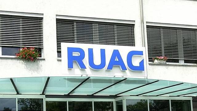 Ruag-Sitz in Thun (Archiv)