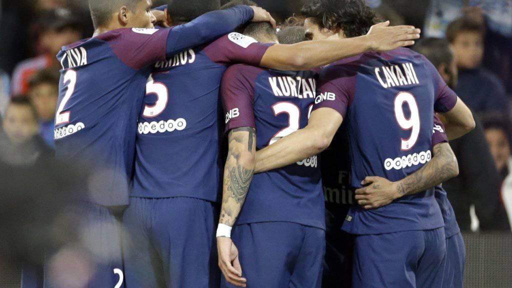 Paris Saint Germain steht nach drei Spielen noch ohne Punktverlust und Gegentor da