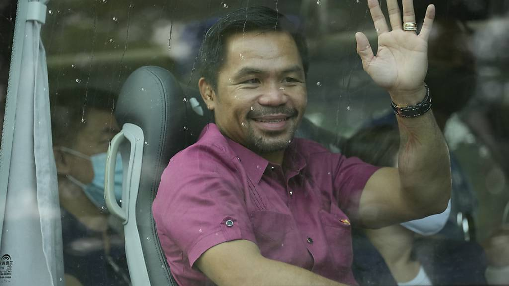 Philippinen: Ex-Boxer Pacquiao reicht Präsidentschaftskandidatur ein