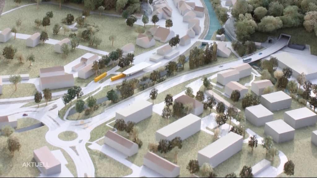 74 Millionen-Projekt in Klus: Umfahrung soll Stau reduzieren