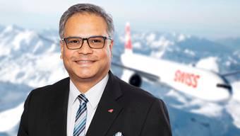 Ashwin Bhat (51): «Der letzte Flug mit Masken war vor etwa zwei Wochen.»