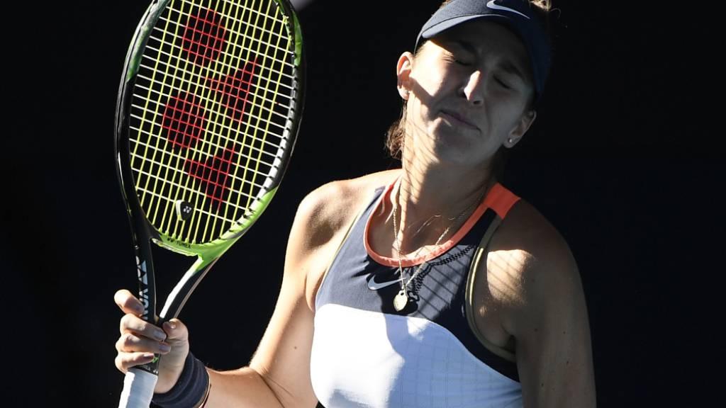 Belinda Bencic war gegen Madison Keys der Jet-Lag nach einer Reise über acht Zeitzonen gut anzumerken