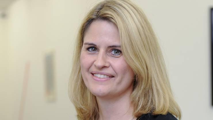 Eva Inversini, künstlerische Leiterin des Kunsthaus Grenchen