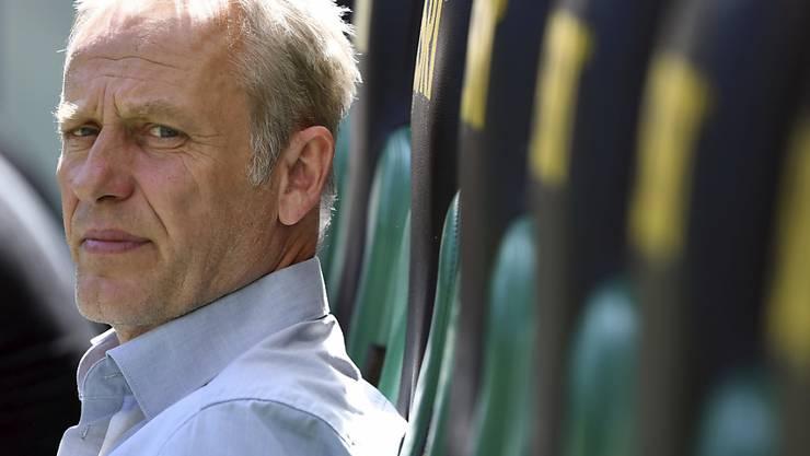 Die Einsamkeit des Trainers im Abstiegskampf: Freiburgs Kultfigur Christian Streich