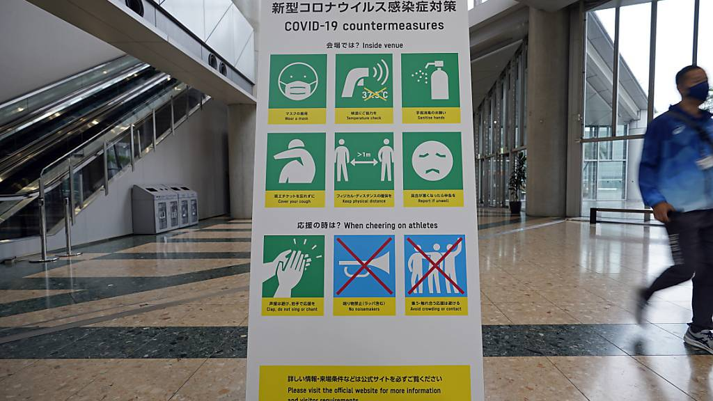 Klare Regeln, aber Probleme bei der Umsetzung: Die Organisation eines Grossanlasses wie die Olympischen Spiele in Tokio bleiben in Corona-Zeiten eine riesige Herausforderung