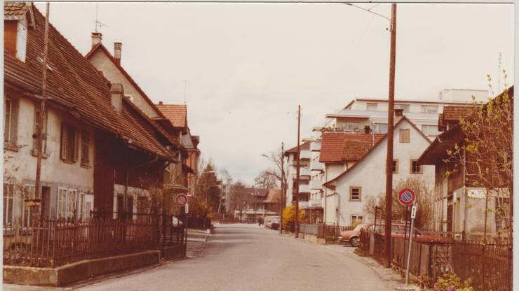 Der grösste Wandel in der Kirchstrasse vollzog sich in den 1980er Jahren.