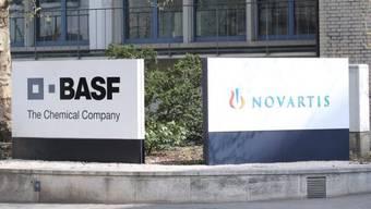 Die Pharmaindustrie ist das Zugpferd des Schweizer Exports. Die in Basel ansässigen BASF und Novartis spielen dabei eine grosse Rolle.