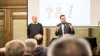 Im Januar 2017 war die Welt noch in Ordnung: Martin Rüfenacht präsentierte sich damals an einer Wahlveranstaltung.