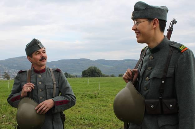 Mitglieder des Vereins Rost & Grünspan.
