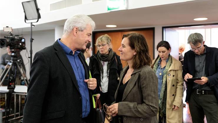 Franziska Roth (SP, Solothurn) und Felix Wettstein (Grüne, Olten) starten am Montag in den Berner Parlamentsalltag.