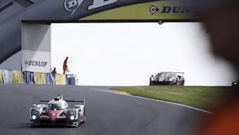 Sébastien Buemi ist mit seinem Toyota stark ins 24-Stunden-Rennen von Le Mans gestartet