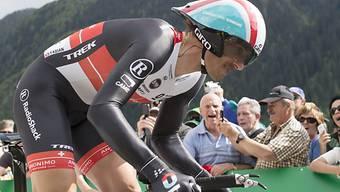 Favorit Fabian Cancellara liess Konkurrenz hinter sich.