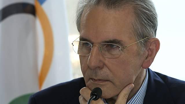 Laut Jacques Rogge bleibt der IOC-Sitz in Lausanne