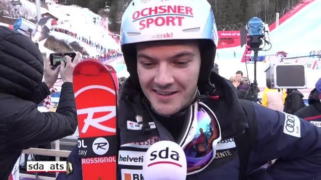 Loïc Meillard will sich auf die nächsten Weltcup-Rennen konzentrieren