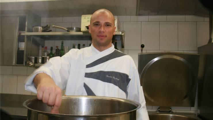 «Spedition»-Chefkoch Torsten Rachlok ist zufrieden mit dem Start. mru