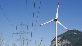 Die Produktion von Windenergie stagniert in der Schweiz bei gerade mal 0,2 Prozent. Neue Windkraftanlagen kamen im letzten Jahr keine dazu. (Archivbild)