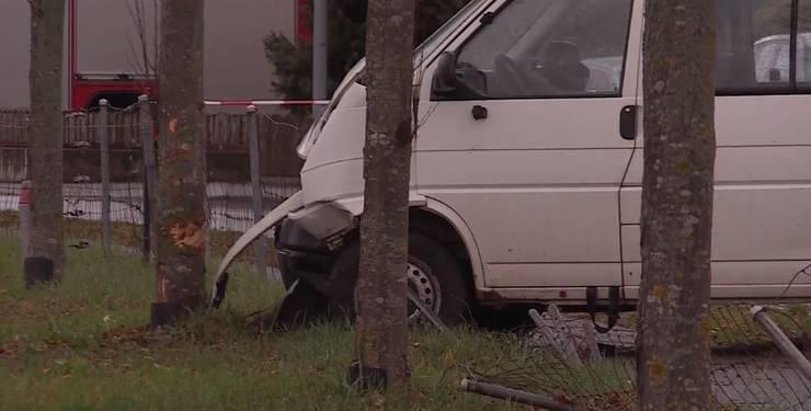 Der Unfall-Wagen.