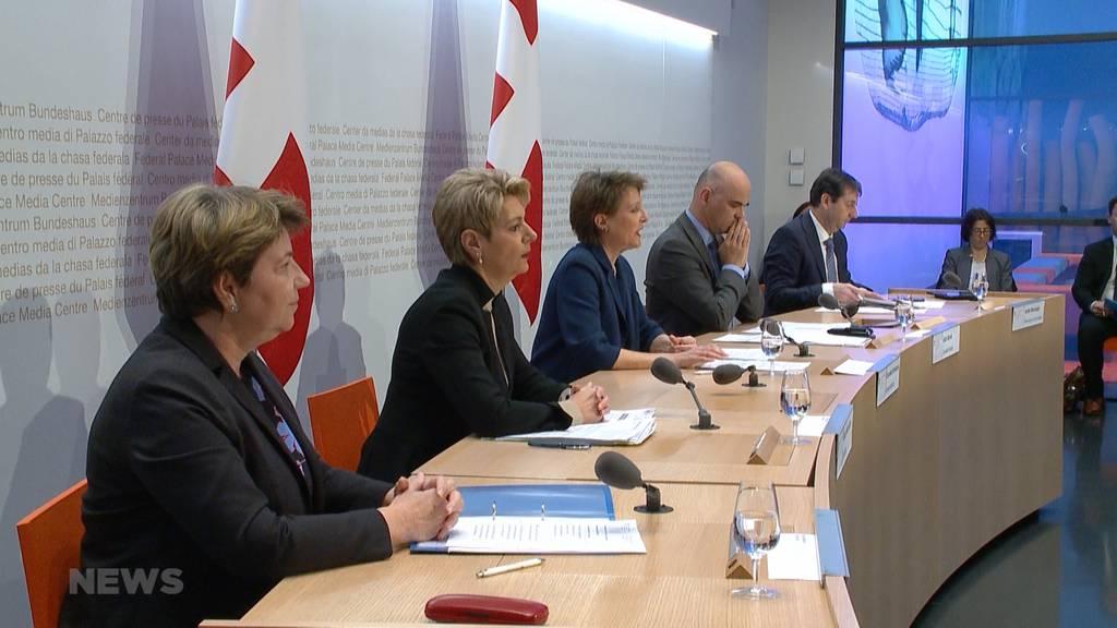 Bundesrat erklärt Notstand wegen Covid-19
