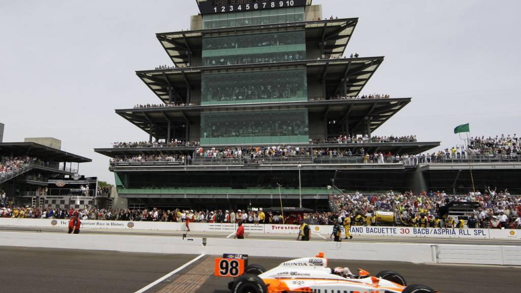 Am legendären «Indy 500» in Indianapolis sollen am 23. August 100'000 Zuschauer statt der üblichen 400'000 dabeisein können.