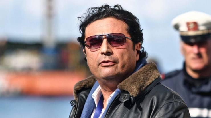 """""""Costa Concordia""""-Kapitän Francesco Schettino in einer Aufnahme vom Februar 2014."""