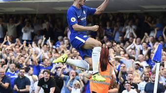 Alvaro Morata und seine spanischen Teamkollegen schiessen Chelsea zum Sieg