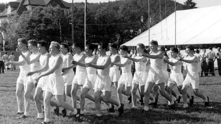 Der Katholische Turnverein St. Martin war auch bereits in den 50er-Jahren sportlich unterwegs.