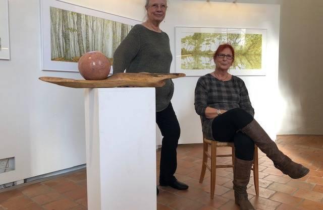 v.l.: Gitta von Felten und Pierrette Müller