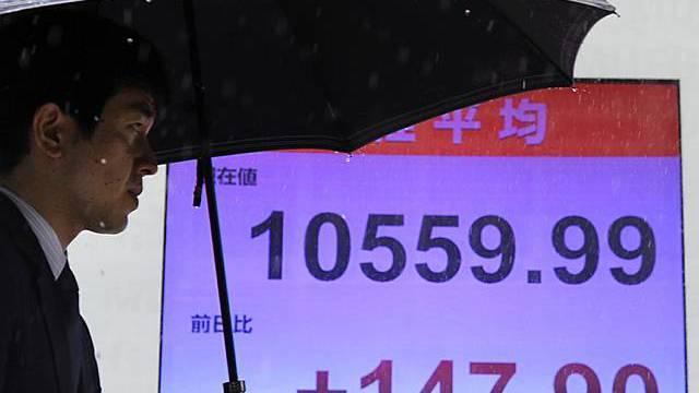 Kurs von Nikkei steigt weiter