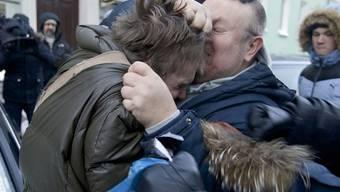 Anfang der Woche griffen russisch-orthodoxe Christen vor der Duma Verfechter von Homosexuellen-Rechten an