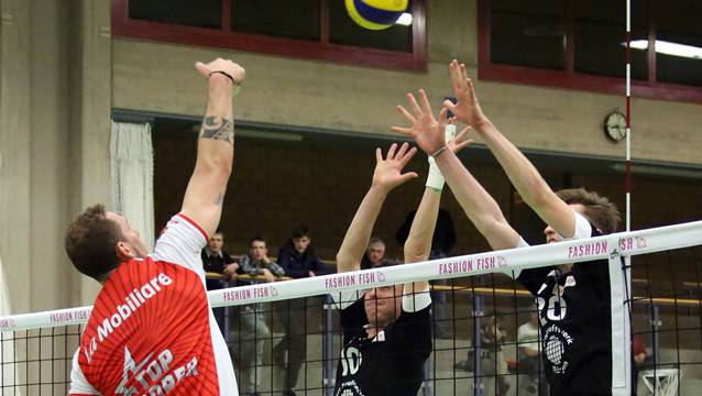 Der TV Schönenwerd fand im ersten Finalspiel gegen die Übermacht Lugano kein probates Mittel.