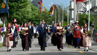 Der Bezirksmusiktag Solothurn-Lebern 2008, mit der Stadtmusik Solothurn.