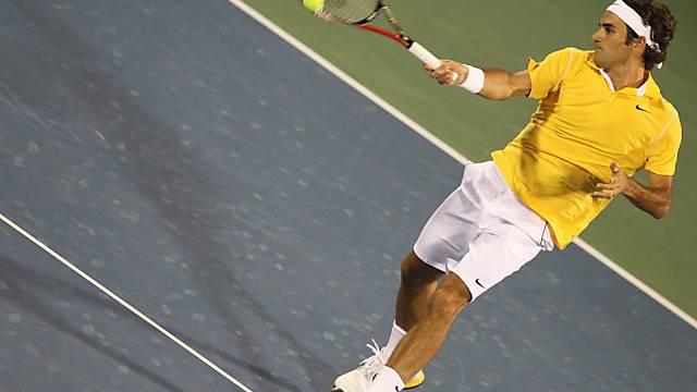 Roger Federer fehlen noch zwei Erfolge zum Turniersieg