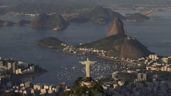 Die eindrückliche Kulisse von Rio de Janeiro - wo die Olympischen Spiele unmittelbar bevorstehen.
