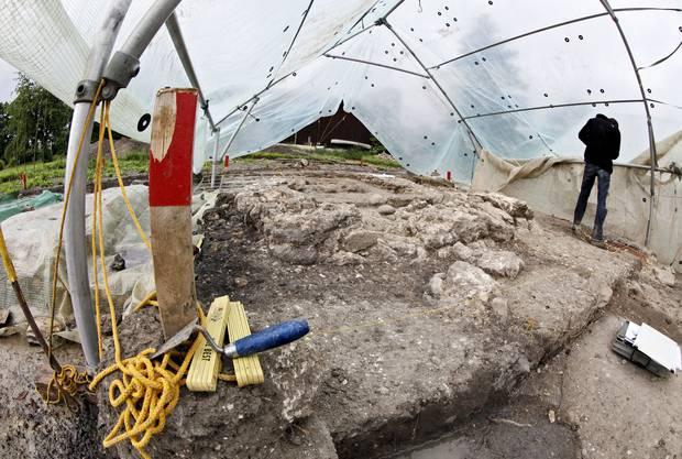 In Altreu finden seit März Grabungen statt