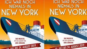 """Die Thunerseespiele bringen nächstes Jahr das Udo-Jürgens-Musical """"Ich war noch niemals in New York"""". Es ist die erste Openair-Aufführung des erfolgreichen Stücks."""