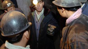 Arbeiter in einer Kohlenmine in Liaoning (Archiv)
