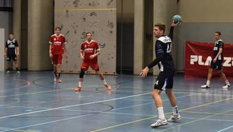 Jonas Affentranger (mit Ball) schied im Laufe des Spiels verletzt aus.