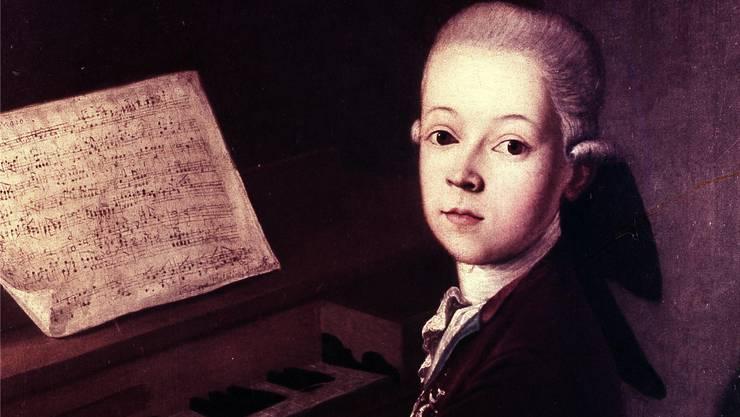 Wolfgang Amadeus Mozart (1756–1791) war vieles: Pianist, Violinist, Komponist und so etwas wie die Erfindung des Wunderkindes.Getty Images