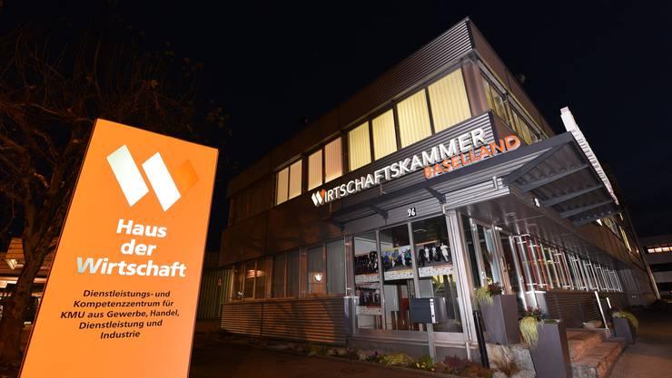 Die Wirtschaftskammer Baselland (Wika) hält zahlreiche Tochterfirmen. (Archiv)