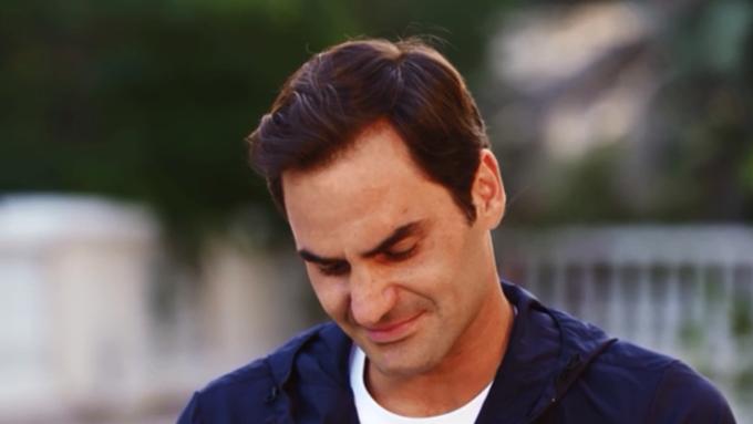 Roger weint