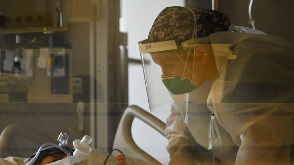Corona in den USA: Mehr als 180 000 Neuinfektionen