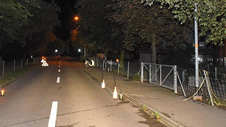 Der Unfall ereignete sich in der Nähe des Schulhauses von Islikon.