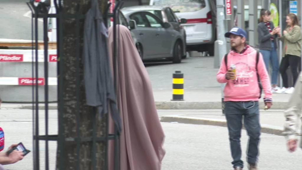 Verhüllungsverbot: Noch keine einzige Anzeige im Kanton SG
